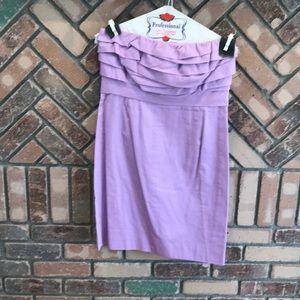 Lavender JCrew Party Dress